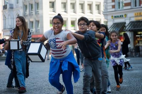 Streetgame während des PLAY-Festivals 2014